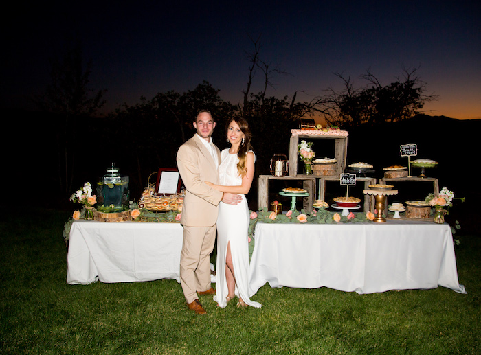 Outdoor Vintage Vow Renewal on Kara's Party Ideas | KarasPartyIdeas.com (4)