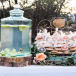 Outdoor Vintage Vow Renewal on Kara's Party Ideas | KarasPartyIdeas.com (3)