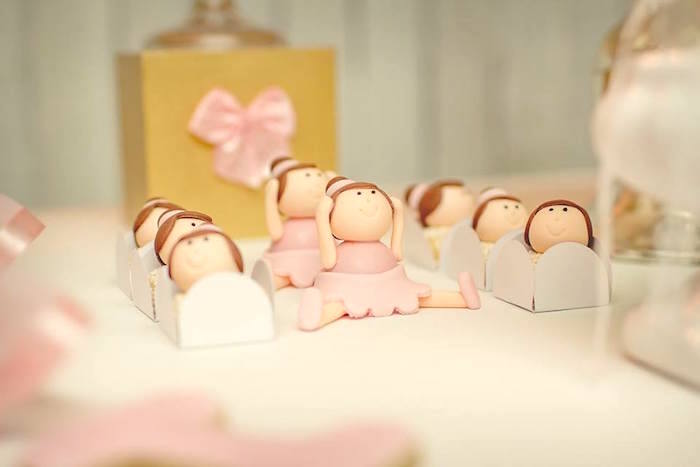 Ballerina truffles + sweets from a Pink Ballerina Birthday Party on Kara's Party Ideas | The Place for All Things PARTY! KarasPartyIdeas.com (4)