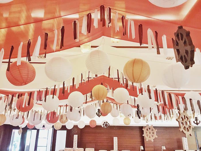 Ceilingscape from a Pirate Birthday Party on Kara's Party Ideas | KarasPartyIdeas.com (33)