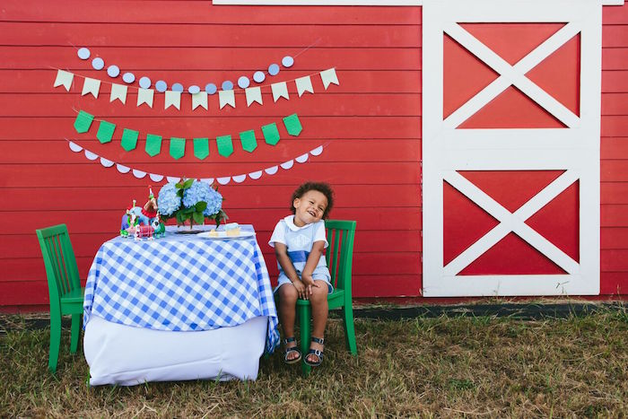 Preppy Barnyard Farm Party on Kara's Party Ideas | KarasPartyIdeas.com (51)