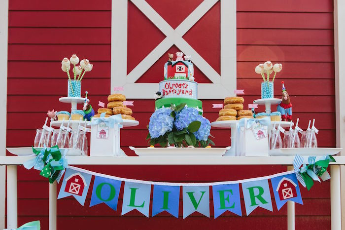 Preppy Barnyard Farm Party on Kara's Party Ideas | KarasPartyIdeas.com (24)