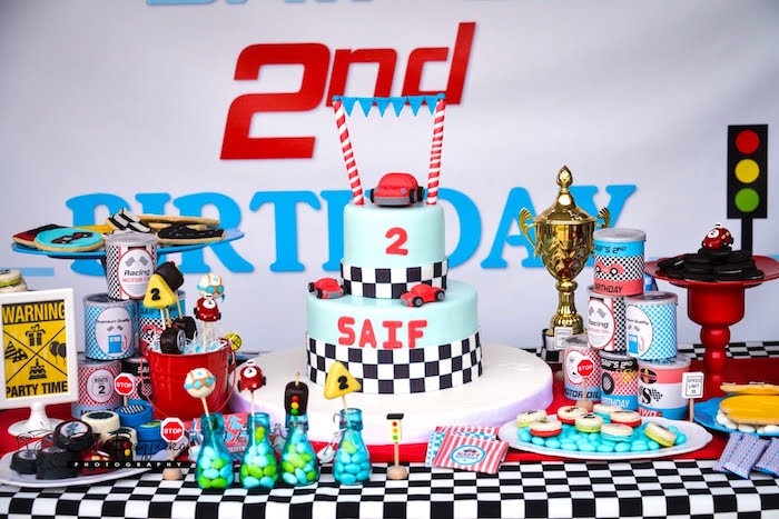 Race Car Themed Party Ideas