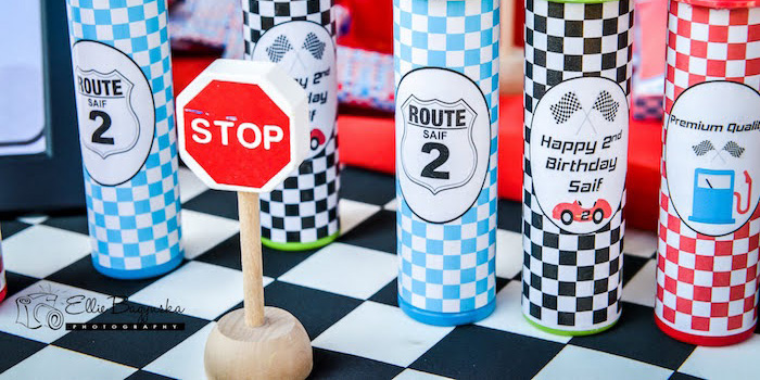 Race Car Birthday Party on Kara's Party Ideas | KarasPartyIdeas.com (3)