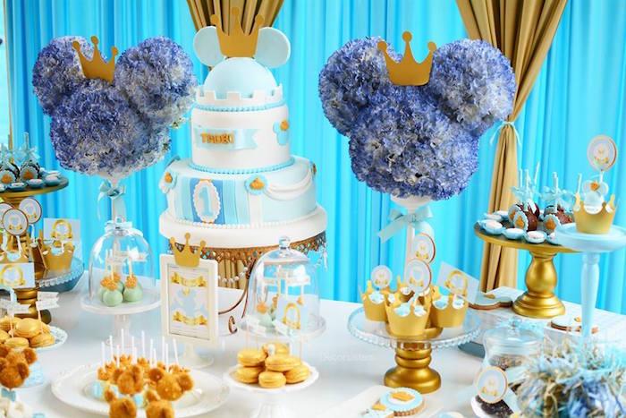 Kara S Party Ideas Royal Mickey Mouse Birthday Party