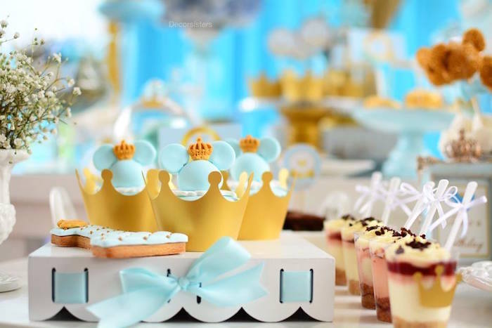 Kara S Party Ideas Royal Mickey Mouse Birthday Party