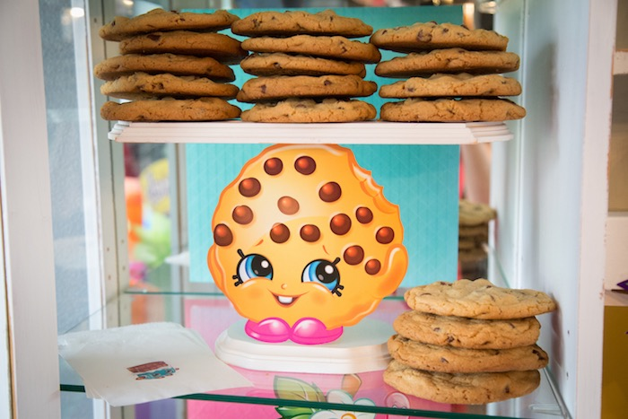 Kooky Cookie cookies from Abriella's Shopkins Birthday Party on Kara's Party Ideas | KarasPartyIdeas.com (9)