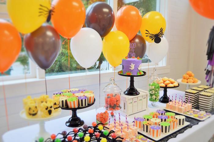 Spooktacular Halloween Birthday Party on Kara's Party Ideas | KarasPartyIdeas.com (31)