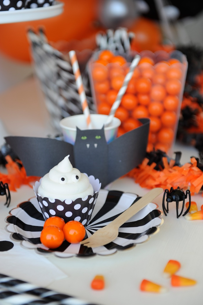 Plate of sweets from a Spooky Halloween Party on Kara's Party Ideas | KarasPartyIdeas.com (11)