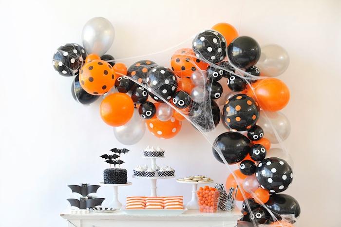 Dessert table from a Spooky Halloween Party on Kara's Party Ideas | KarasPartyIdeas.com (28)