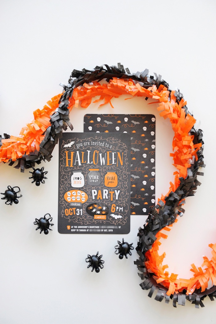 Halloween Party Invitation from a Spooky Halloween Party on Kara's Party Ideas | KarasPartyIdeas.com (7)