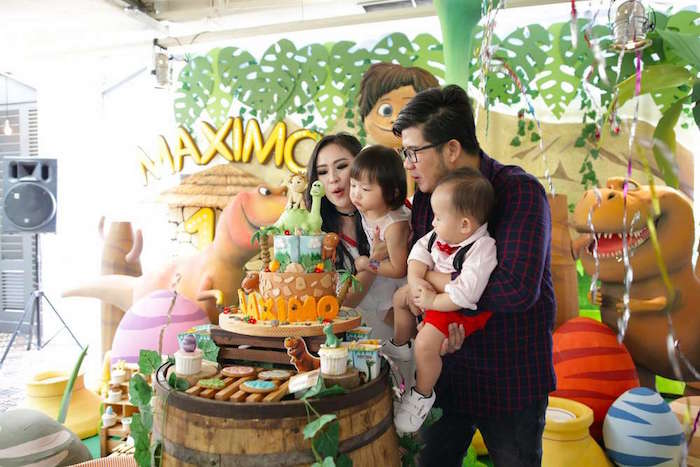 The Good Dinosaur Birthday Party on Kara's Party Ideas | KarasPartyIdeas.com (5)