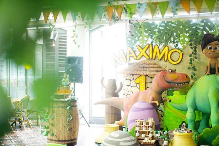 The Good Dinosaur Birthday Party on Kara's Party Ideas | KarasPartyIdeas.com (2)