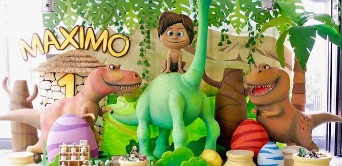 The Good Dinosaur Birthday Party on Kara's Party Ideas | KarasPartyIdeas.com (1)
