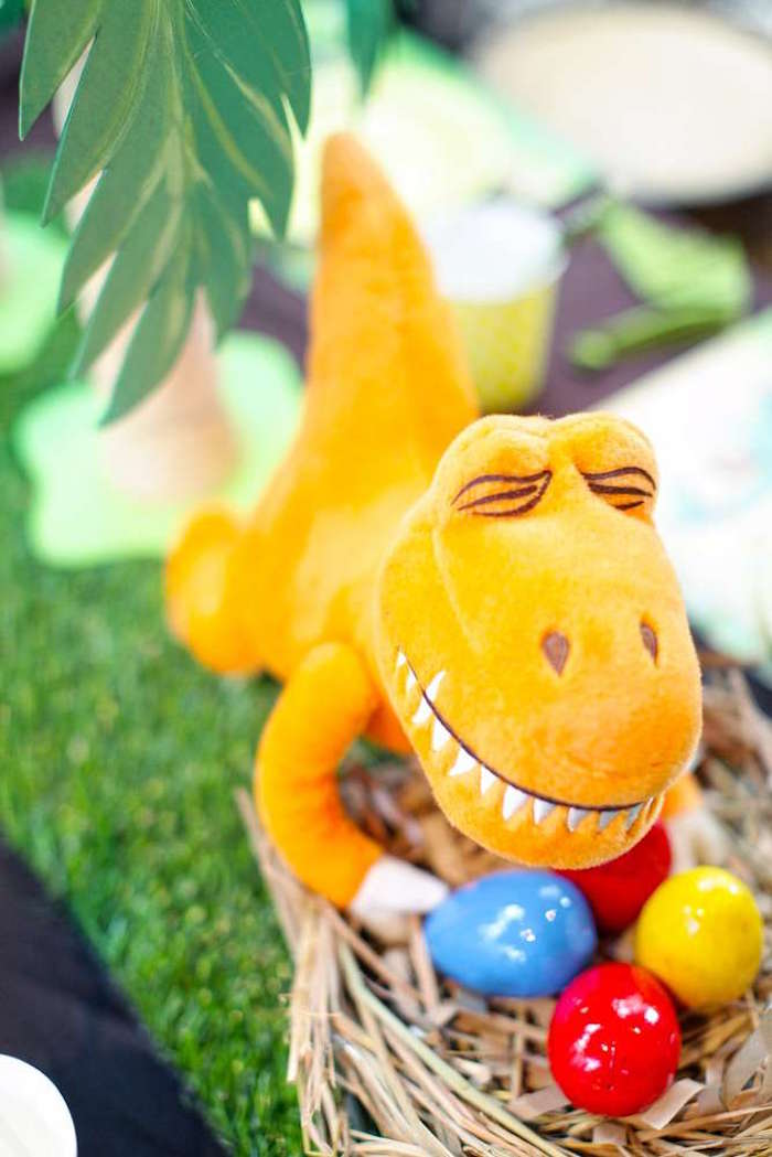 Dinosaur from a Good Dinosaur Birthday Party on Kara's Party Ideas | KarasPartyIdeas.com (8)