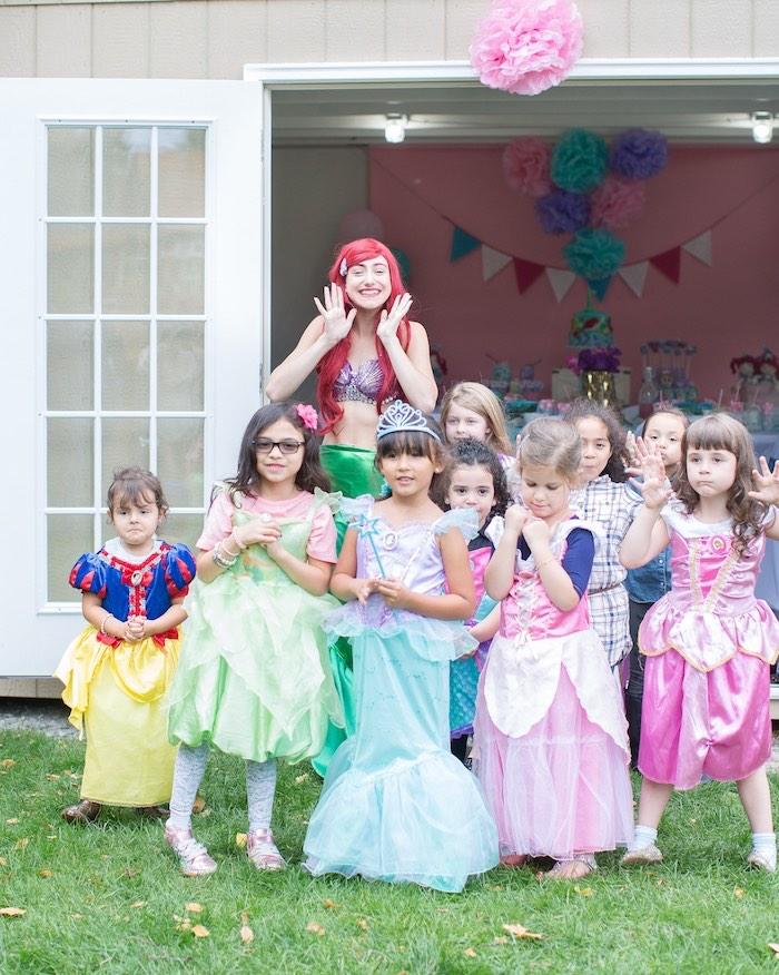 Little Mermaid Birthday Party on Kara's Party Ideas | KarasPartyIdeas.com (8)