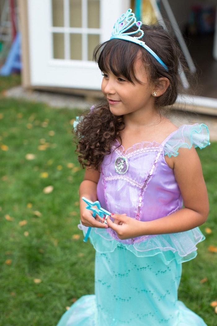 Little Mermaid Birthday Party on Kara's Party Ideas | KarasPartyIdeas.com (7)