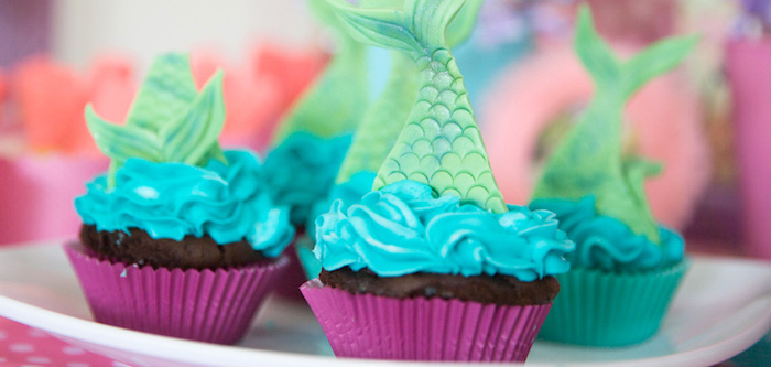 Little Mermaid Birthday Party on Kara's Party Ideas | KarasPartyIdeas.com (2)