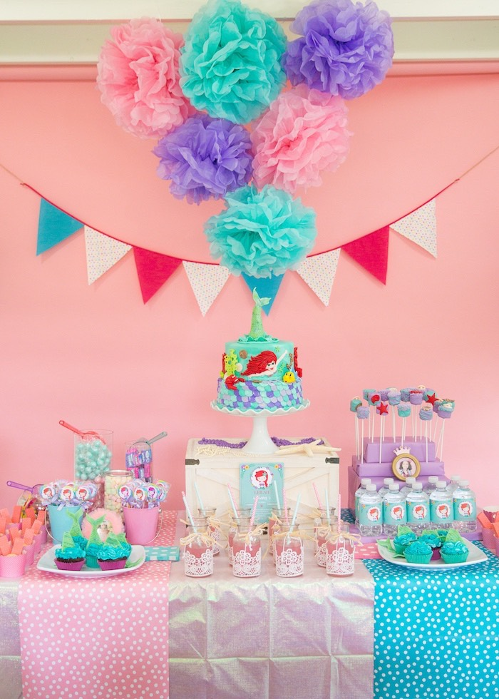 Kara S Party Ideas The Little Mermaid Birthday Party