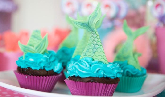 Kara's Party Ideas The Little Mermaid Birthday Party | Kara's Party ...