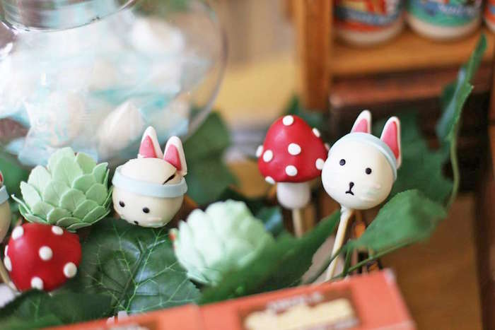 Cake pops from a Tribal Indian Camping Party on Kara's Party Ideas   KarasPartyIdeas.com (23)