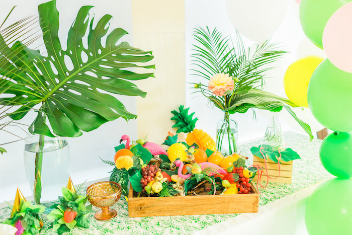 Tropical FOURest Birthday Party on Kara's Party Ideas | KarasPartyIdeas.com (42)