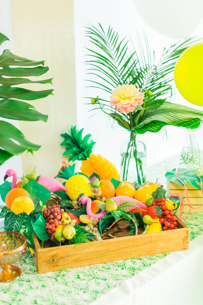 Tropical FOURest Birthday Party on Kara's Party Ideas | KarasPartyIdeas.com (36)