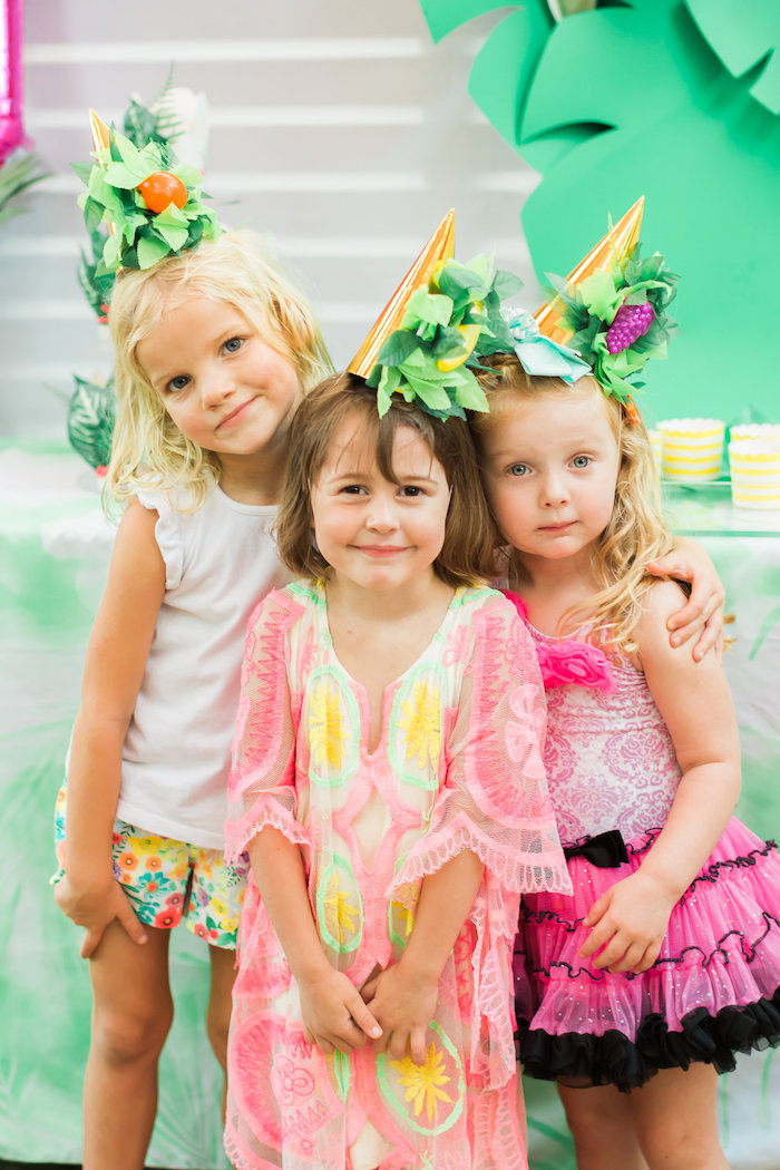Tropical FOURest Birthday Party on Kara's Party Ideas | KarasPartyIdeas.com (47)