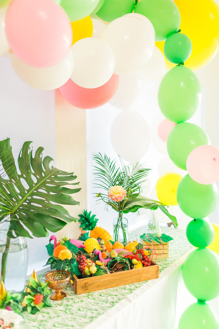 Tropical FOURest Birthday Party on Kara's Party Ideas | KarasPartyIdeas.com (45)