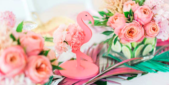 Tropical Flamingo Paradise Party on Kara's Party Ideas | KarasPartyIdeas.com (1)