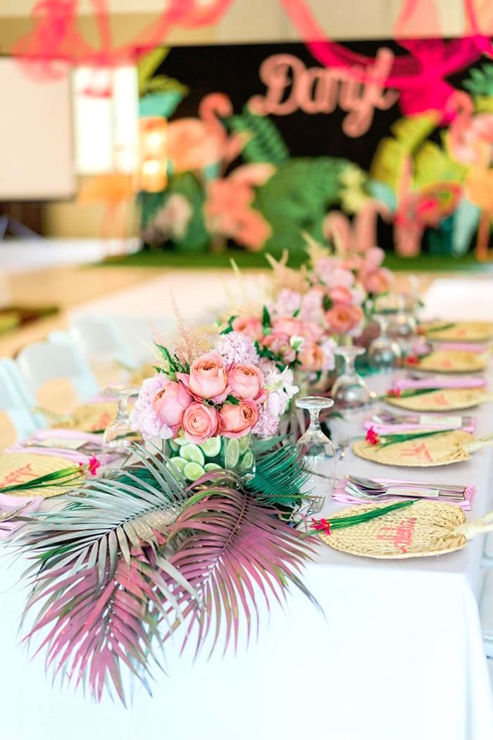 kara s party ideas tropical flamingo paradise party kara s party ideas