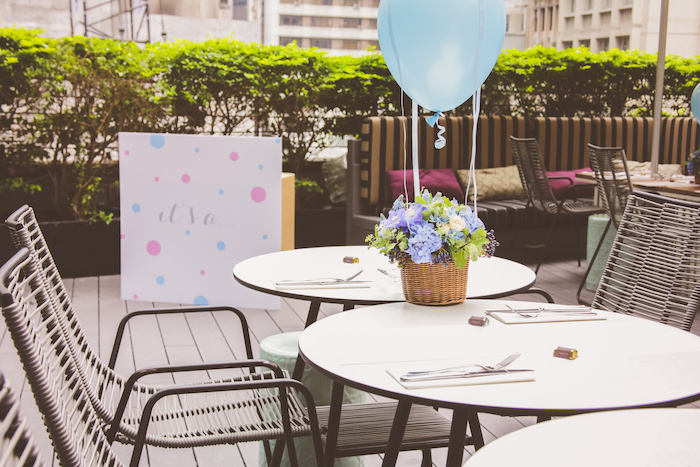 Urban Gender Reveal Party on Kara's Party Ideas | KarasPartyIdeas.com (27)