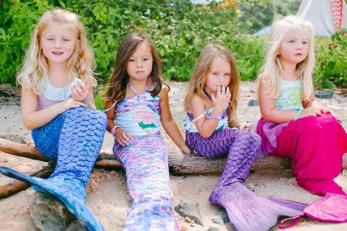 Watercolor Mermaid Birthday Party on Kara's Party Ideas | KarasPartyIdeas.com (10)