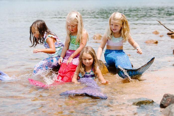 Watercolor Mermaid Birthday Party on Kara's Party Ideas | KarasPartyIdeas.com (9)