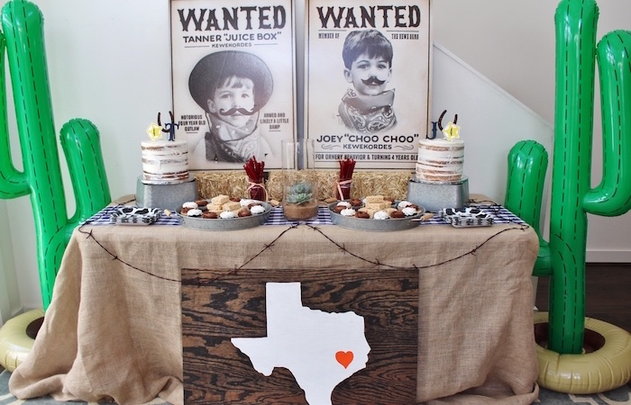 Western Rodeo Birthday Party on Kara's Party Ideas | KarasPartyIdeas.com (13)