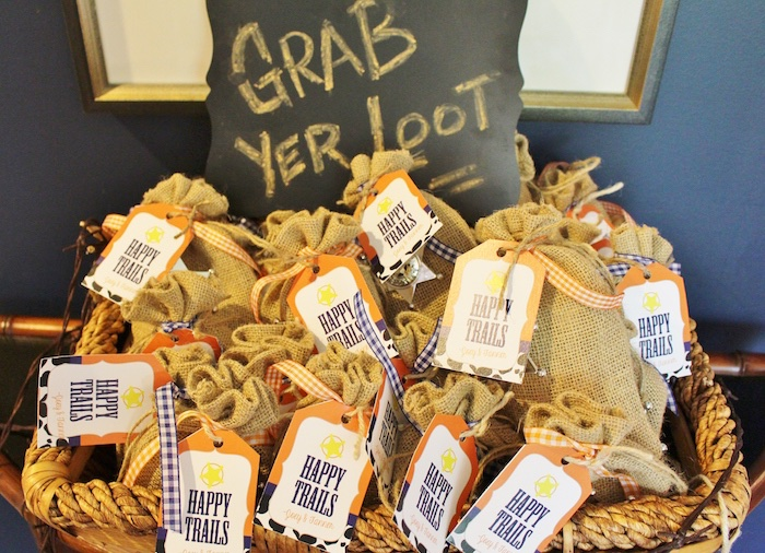 Kara's Party Ideas Loot bags from a Western Rodeo Birthday Party via Kara's Party Ideas ...