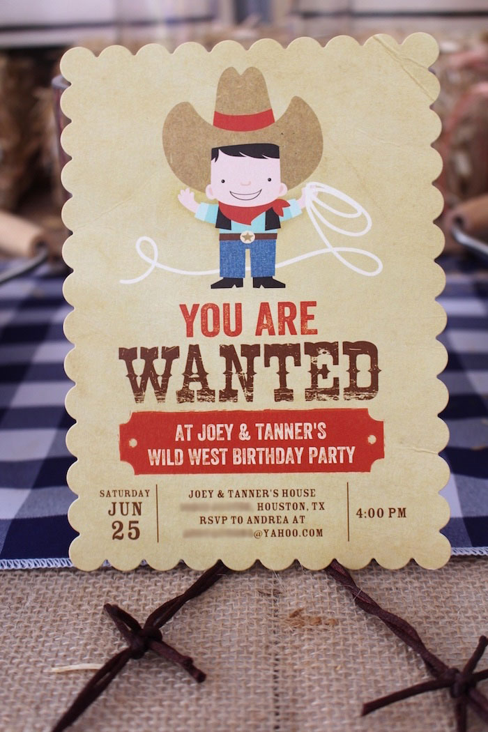 Cowboy Themed Birthday Party Invitation Wording Invitations Ideas – Cowboy Party Invitation Wording
