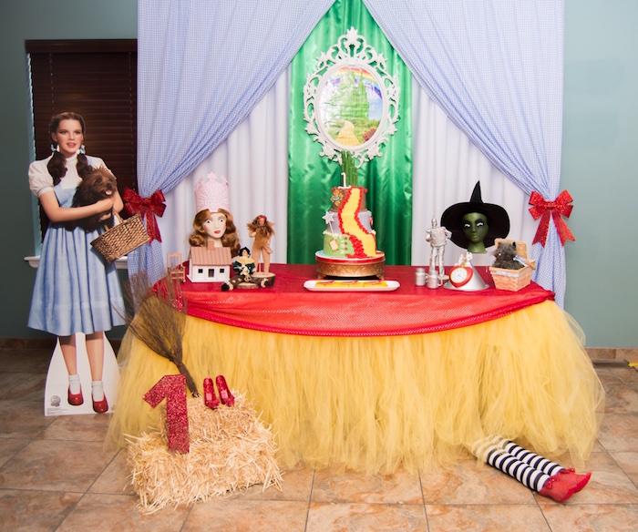 Karas Party Ideas Special Wizard Of Oz Birthday Party Karas