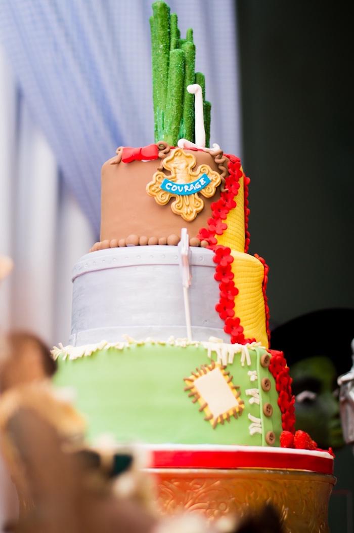 Wizard of Oz cake from a Wizard of Oz Birthday Party on Karau0027s Party Ideas | & Karau0027s Party Ideas Special Wizard of Oz Birthday Party | Karau0027s ...