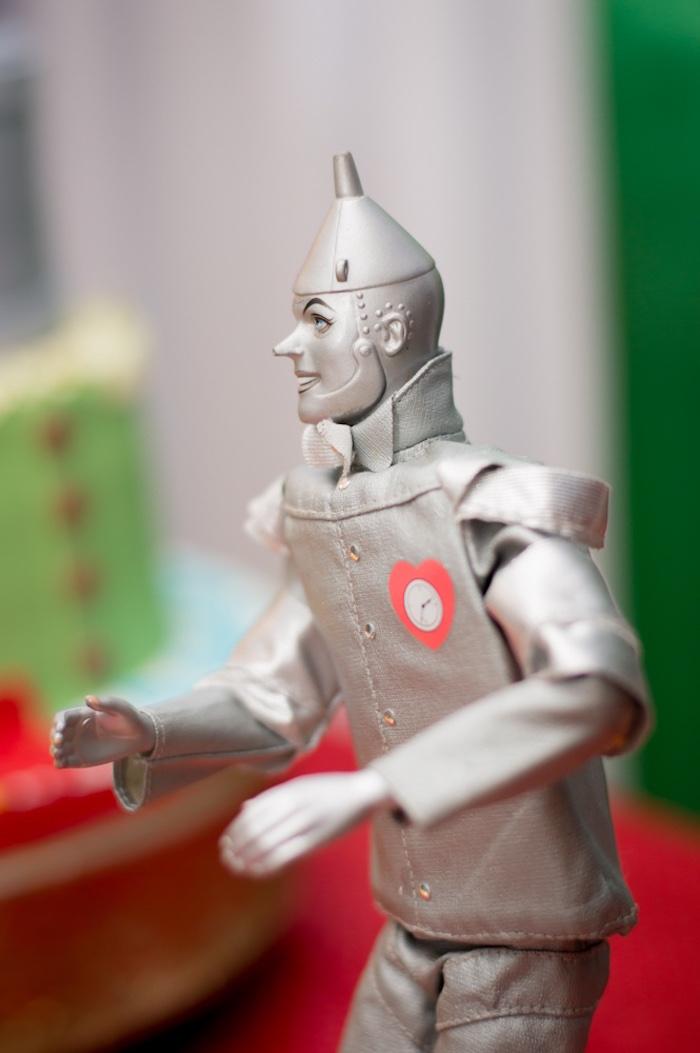 Tin Man prop from a Wizard of Oz Birthday Party on Kara's Party Ideas | KarasPartyIdeas.com (6)