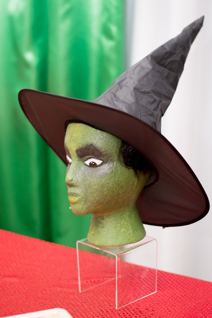 Wicked Witch prop from a Wizard of Oz Birthday Party on Kara's Party Ideas | KarasPartyIdeas.com (28)