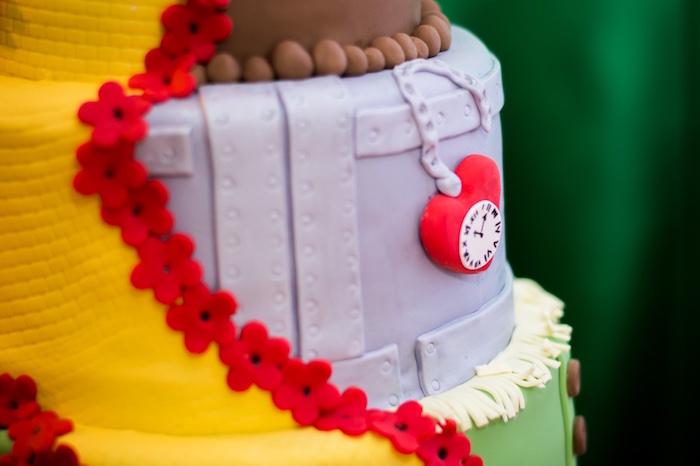 Tin Man cake detail from a Wizard of Oz Birthday Party on Kara's Party Ideas | KarasPartyIdeas.com (22)