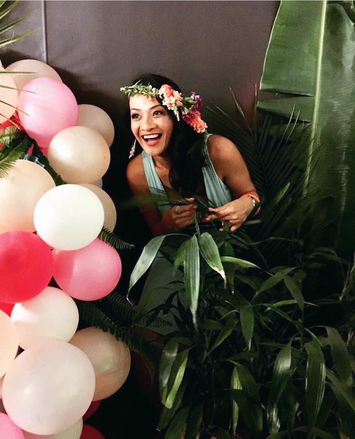 40th Birthday Tropical Soiree on Kara's Party Ideas   KarasPartyIdeas.com (22)