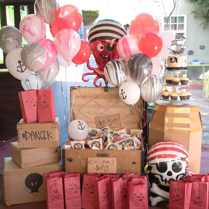 A Pirate's Life for Three Birthday Party on Kara's Party Ideas   KarasPartyIdeas.com (28)