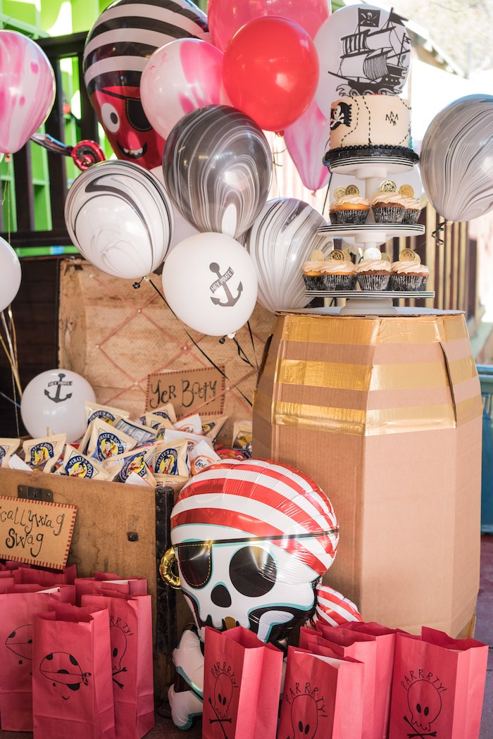 A Pirate's Life for Three Birthday Party on Kara's Party Ideas   KarasPartyIdeas.com (26)