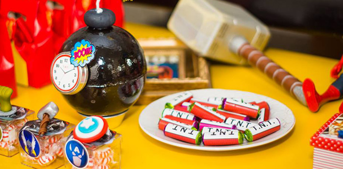 Avengers Superhero Birthday Party on Kara's Party Ideas | KarasPartyIdeas.com (3)