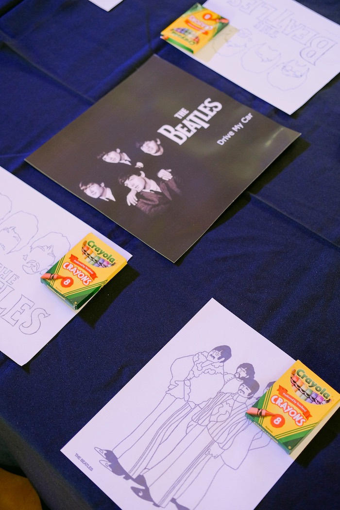 Beatles coloring pages from a Beatles Birthday Party on Kara's Party Ideas | KarasPartyIdeas.com (19)