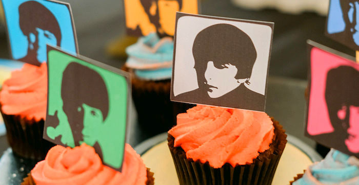 Kara S Party Ideas Beatles Birthday Party Kara S Party Ideas