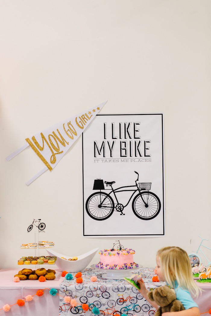 Bike Themed Birthday Party on Kara's Party Ideas | KarasPartyIdeas.com (16)