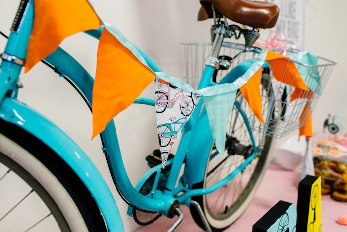 Bicycle pennant banner from a Bike Themed Birthday Party on Kara's Party Ideas | KarasPartyIdeas.com (9)